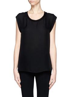 3.1 PHILLIP LIMSilk muscle T-shirt