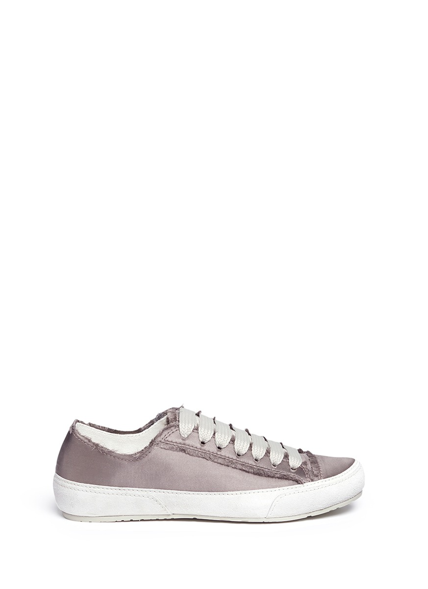 Parson satin sneakers by