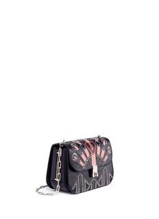 Valentino'Love Blade' stud leather crossbody bag
