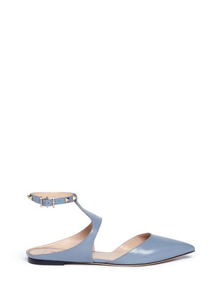 Main View - Click To Enlarge - Valentino - 'Rockstud' leather flats