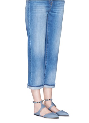 Figure View - Click To Enlarge - Valentino - 'Rockstud' leather flats