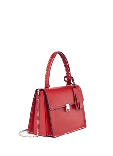 Valentino Micro Rockstud leather shoulder bag