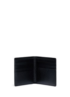 Anya Hindmarch'Eyes' embossed leather bifold wallet