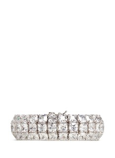 CZ by Kenneth Jay Lane 'Bombay' cubic zirconia pavé bracelet