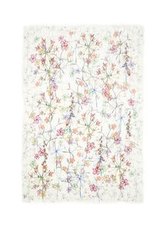 Franco Ferrari'Rieti' floral print modal blend scarf
