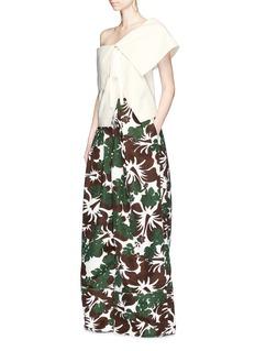 Rosie AssoulinArtichoke floral print wide leg pants