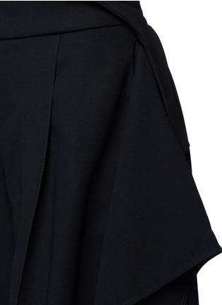 Detail View - Click To Enlarge - Maticevski - 'Regulation' sculptural wide leg pants