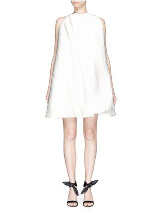 Main View - Click To Enlarge - Maticevski - 'Establishment' duchesse satin swing dress