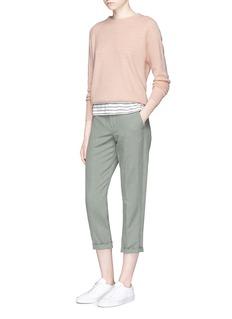 VinceCashmere-linen sweater