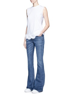 VICTORIA, VICTORIA BECKHAM Skinny flare jeans