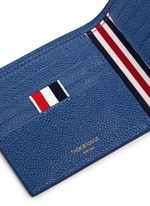 Pebble grain leather bifold wallet
