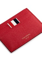 Pebble grain leather cardholder