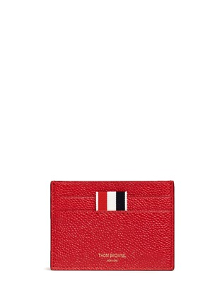 Thom Browne - Pebble grain leather cardholder