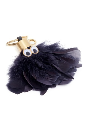 Sophie Hulme - 'Sam' ethical Turkey feather keyring