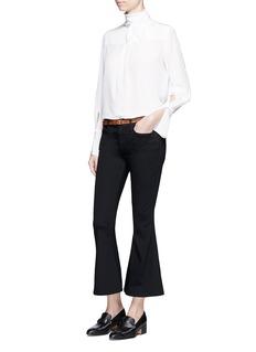 Frame Denim'Le Crop Bell' cropped flare jeans