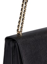 'Robinson' convertible saffiano leather chain bag