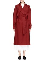 'Swells' belted cotton coat