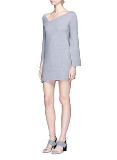 C/Meo Collective 'Break Free' asymmetric knit dress