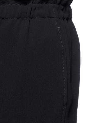 Detail View - Click To Enlarge - Theory - 'Tralpin' admiral crepe drawstring pants