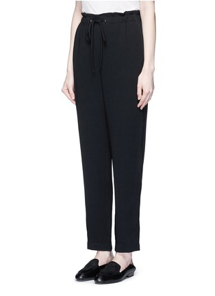 Front View - Click To Enlarge - Theory - 'Tralpin' admiral crepe drawstring pants