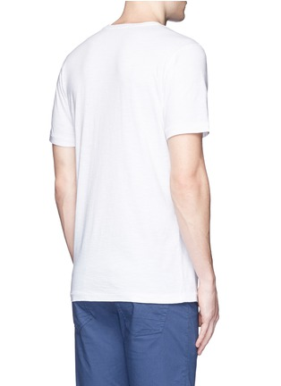 Denham - '493' print cotton T-shirt