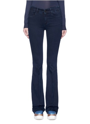 Main View - Click To Enlarge - Stella McCartney - Flared leg cotton denim pants