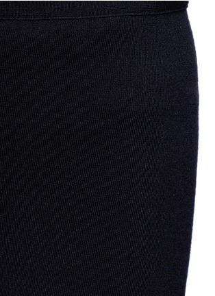 Detail View - Click To Enlarge - Alaïa - 'Supreme' wool blend leggings