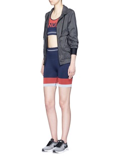LNDR'Luna' tech fabric hood jacket