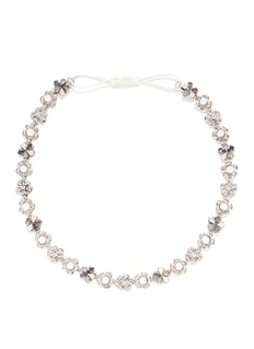 Erickson Beamon 'Til Death Do Us Part' Swarovski crystal glass pearl headband
