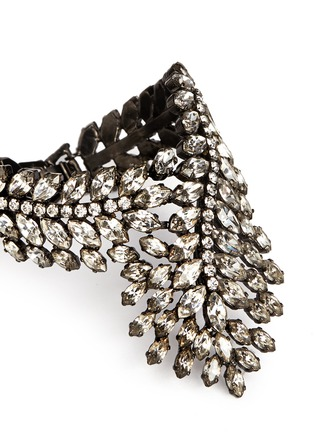 Detail View - Click To Enlarge - Erickson Beamon - 'Frequent Flyer' Swarovski crystal statement cuff