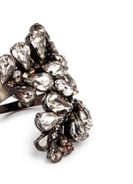 'Frequent Flyer' Swarovski crystal statement ring