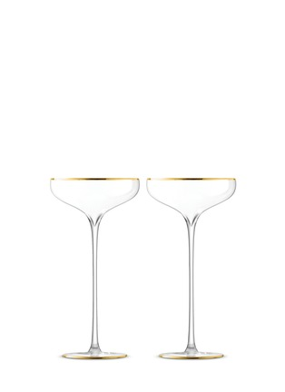 Main View - Click To Enlarge - Lsa - Celebrate champagne saucer set