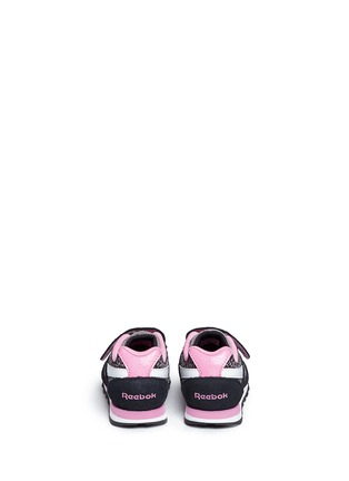 Back View - Click To Enlarge - Reebok - 'Jungle Book Bagheera Runner' toddler sneakers