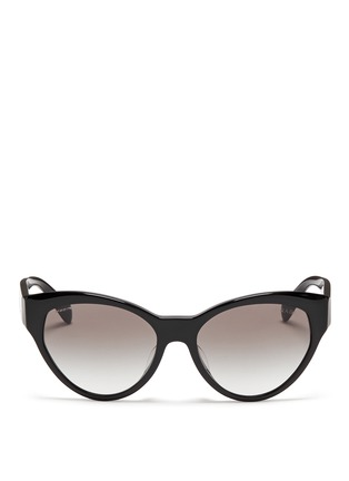 Main View - Click To Enlarge - Prada - Acetate cat eye sunglasses