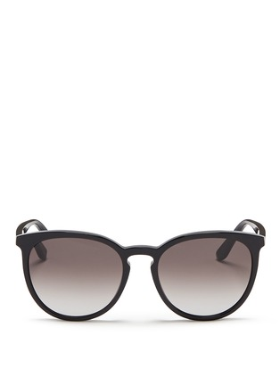Main View - Click To Enlarge - Valentino - Round frame acetate sunglasses