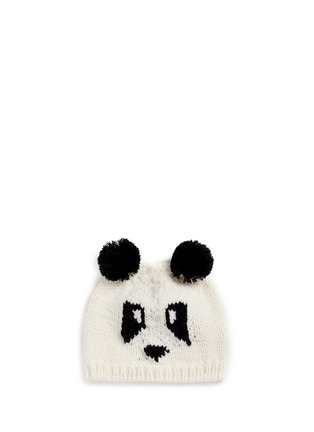 Main View - Click To Enlarge - THE BLUEBERRY HILL - 'Elliot' panda knit kids beanie