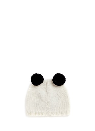 Figure View - Click To Enlarge - THE BLUEBERRY HILL - 'Elliot' panda knit kids beanie