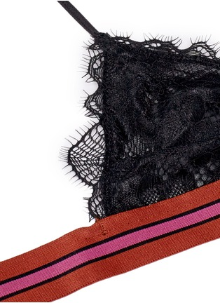 Detail View - Click To Enlarge - Love Stories - 'Darling' eyelash lace triangle bralette