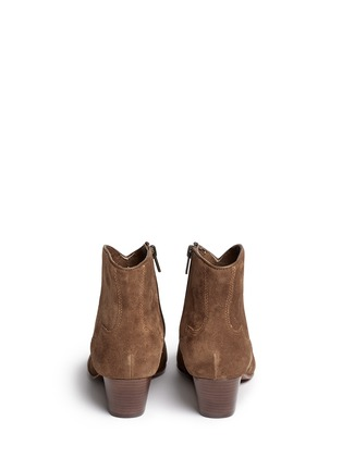 Back View - Click To Enlarge - Ash - 'Hurrican' suede cowboy ankle boots