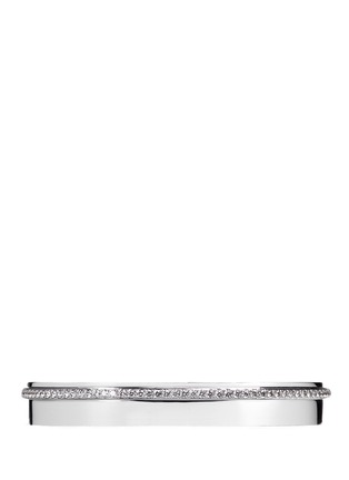 Main View - Click To Enlarge - Messika - 'Kate' diamond 18k white gold bangle