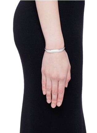 Figure View - Click To Enlarge - Messika - 'Kate' diamond 18k white gold bangle