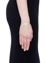 'Kate' diamond 18k white gold bangle