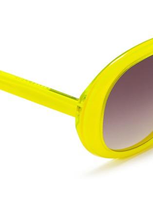 细节 - 点击放大 - SONS+DAUGHTERS EYEWEAR - JACKIE THINK圆框太阳眼镜