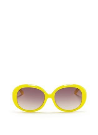 首图 - 点击放大 - SONS+DAUGHTERS EYEWEAR - JACKIE THINK圆框太阳眼镜