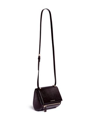 Givenchy-'Pandora Box' mini saffiano patent leather bag