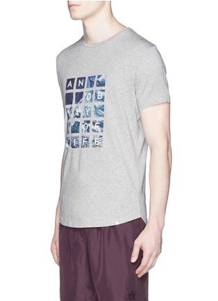 正面 -点击放大 - ORLEBAR BROWN - 'OB T' Abu Dhabi Aerial print T-shirt