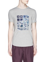 'OB T' Abu Dhabi Aerial print T-shirt