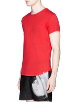 'OB T' cotton jersey T-shirt