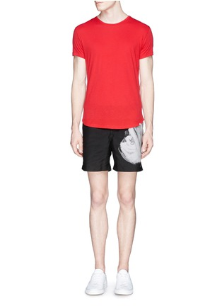 模特儿示范图 - 点击放大 - ORLEBAR BROWN - 'OB T' cotton jersey T-shirt