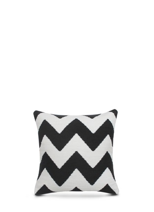 Main View - Click To Enlarge - Jonathan Adler - Pop zigzag cotton pillow
